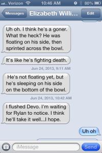 Devo's dead.