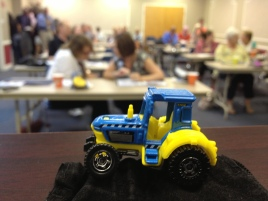 Tractor was introduced to the attendees of my seminar.