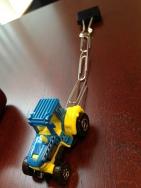 Tractor pullin'.